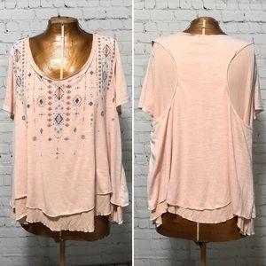 Miss Me Embellished T-Shirt EUC